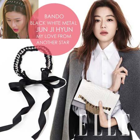 [PO] Bando Black White Metal Jun Ji Hyun - My love From Another Star